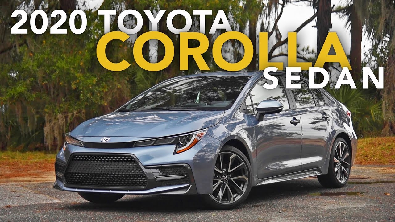 2020 Toyota Corolla Sedan Review First Drive Youtube