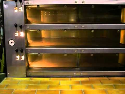 Pavailler Cr 4 Cyclothermic Deck Oven Youtube