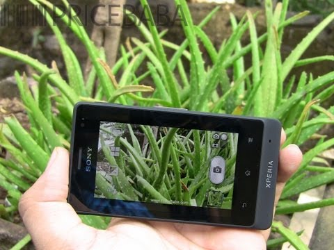 Sony Xperia Go - User Interface & Camera