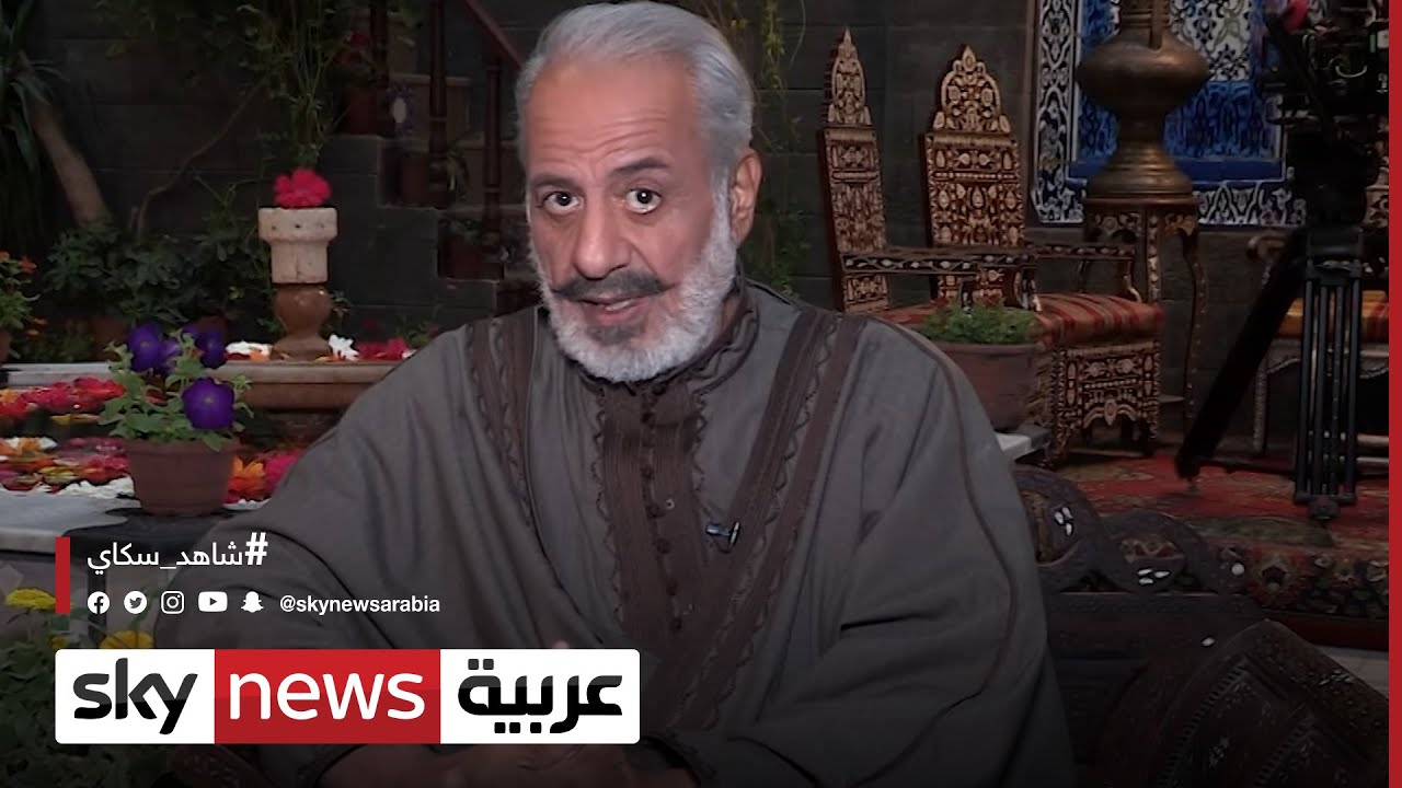 النجم ايمن زيدان: تاريخ دمشق أهم بكثير مما تنجزه الدراما الشامية | #كواليس_النجوم  - نشر قبل 10 ساعة