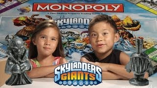 SKYLANDERS MONOPOLY! - Unboxing the SECRET PACKAGE from ACTIVISION!