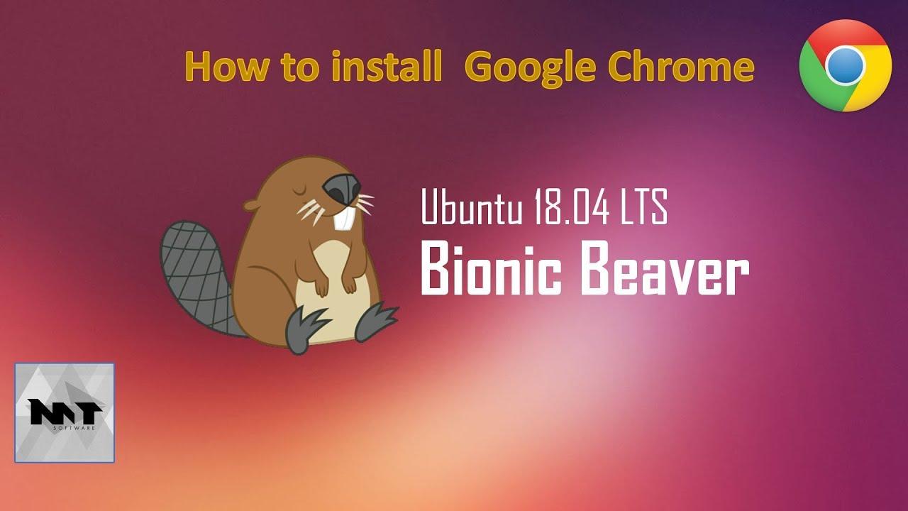How to install Google Chrome on Ubuntu 18 04