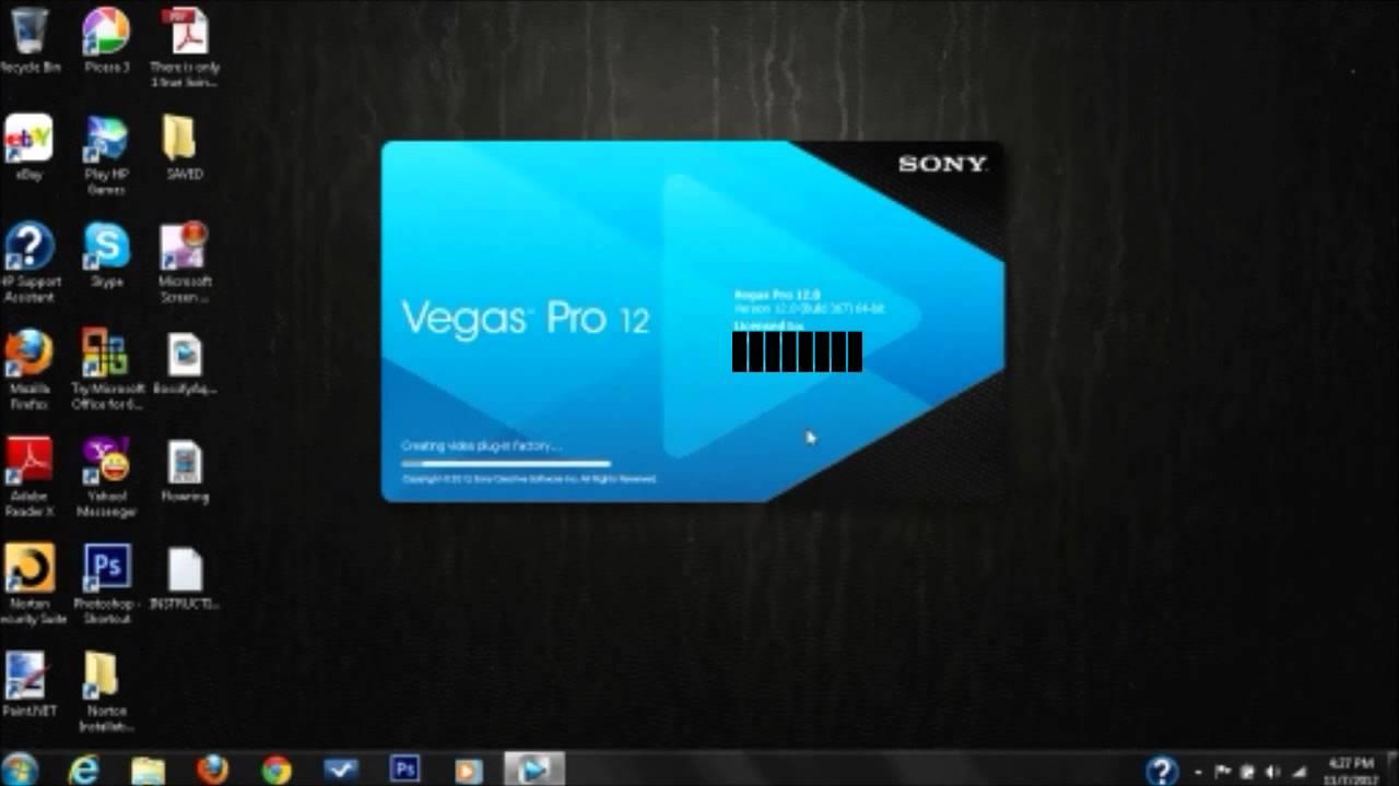 Intro Template Sony Vegas Pro 12