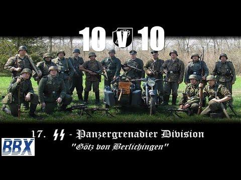 Steel Division   Normandy 44    17. SS Panzergrenadier   10v10 Multiplayer
