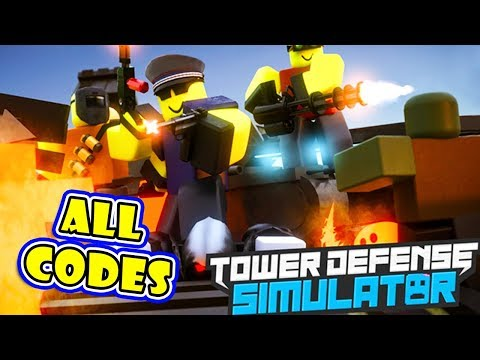 Roblox Tower Defense Simulator working Codes list in 2019