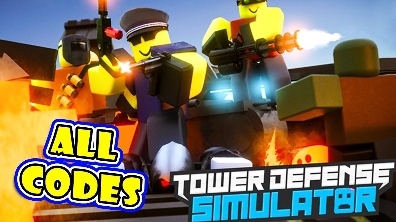 ALL 5 CODES STILL ACTIVE In New Game TOWER DEFENSE SIMULATOR!! [Roblox]