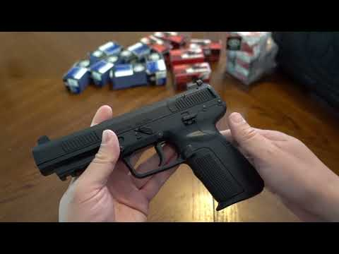 From the Safe:  FN Five SeveN