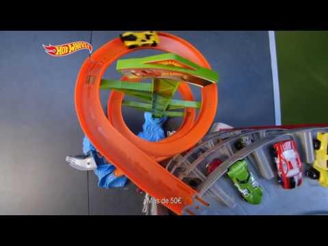 Hot Wheels Ogromny Garaż Mega Zestaw Cmp80 Youtube