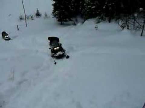 Polaris Widetrack Vs Ski Doo Suv Youtube