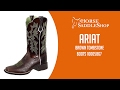 Ariat Womens Brown Tombstone Boots { 10005867 }