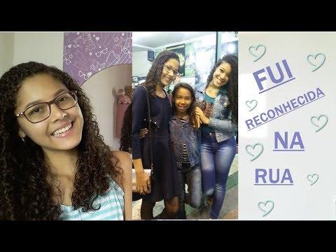 FUI RECONHECIDA NA RUA PELA PRIMEIRA VEZ - Por Camila Nogueira
