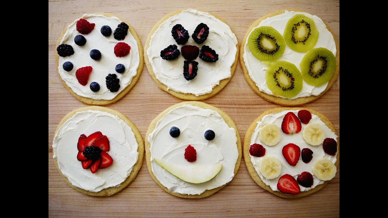 Cooking With Kids How To Make Sugar Cookie Pizzas From Scratch