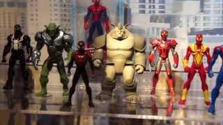 "ULTIMATE SPIDER MAN WEB WARRIORS 6"" Action Figures"