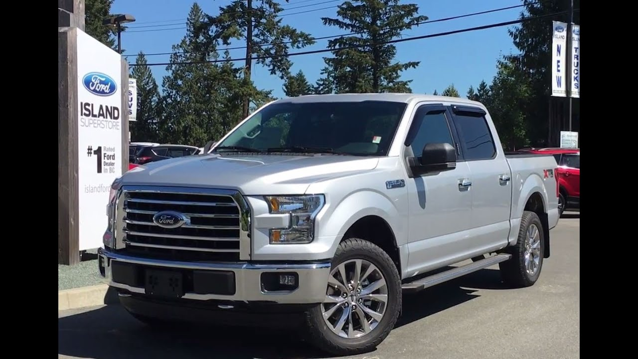 2016 ford f 150 xlt fx4 xtr supercrew 4x4 center console review island ford