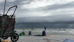 Storm rolling into North Redington Beach, FL Time Lapse