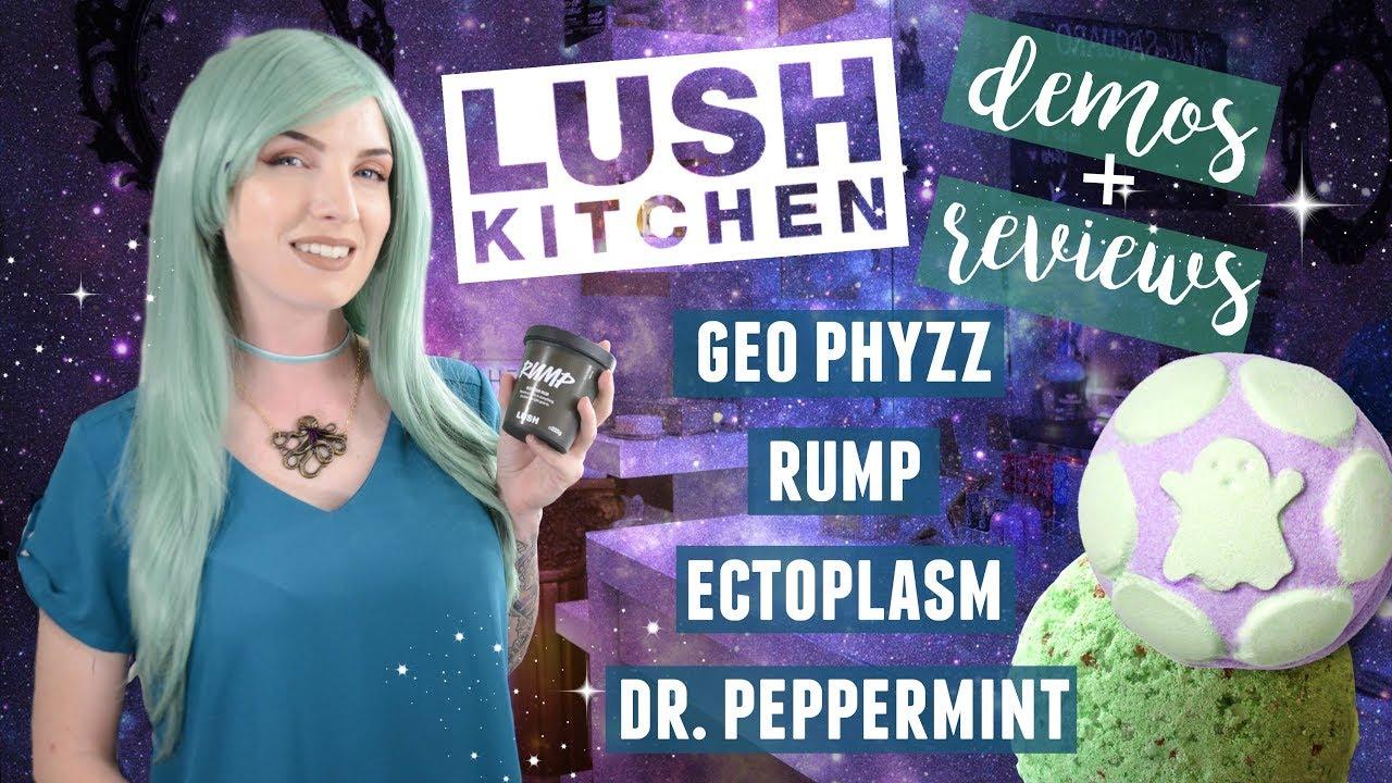LUSH UK & Kitchen Demos & reviews - YouTube