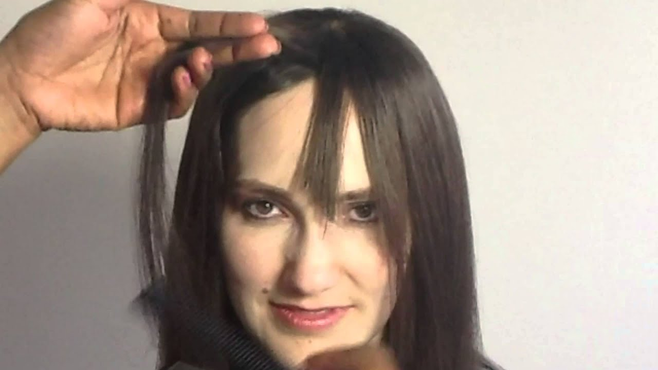 How To Cut Bangs Or A Fringe On Hair Toppers Hair Pieces Or Wigs