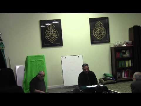 Jab Yaad Sakina ko Teri AAthi hein Baba Recitation by Janab Abid Ali Jan 2015