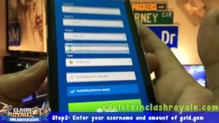 Clash Royale Hack Apk - Android - IOS