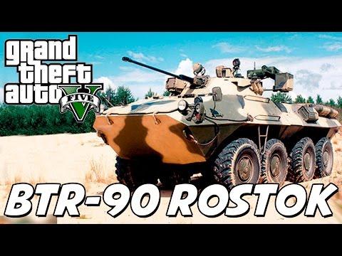 GTA V – Tanque Anfíbio BTR-90 Rostok MOD