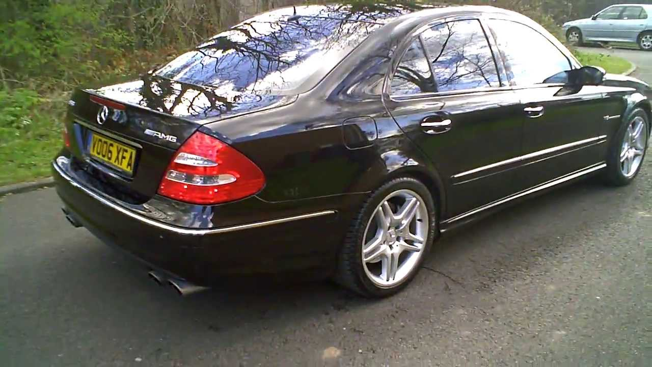 2006 06 mercedes e55 amg kompressor saloon 5 4 v8 for Mercedes benz v8 kompressor