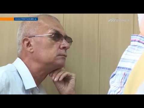 Телеканал Донбасс: Борис Колесников встретился с бывшими милиционерами в Константиновке
