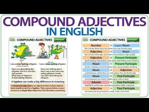 Compound Adjectives - English Grammar