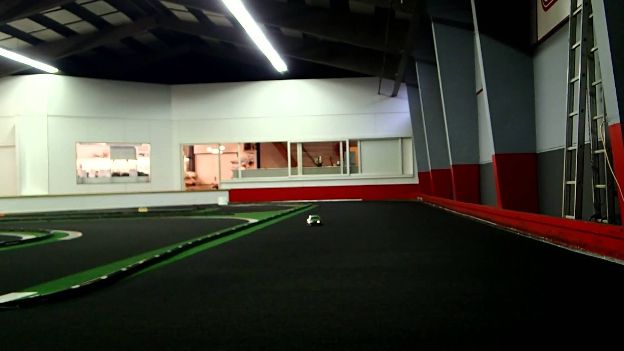 Rc Car Racing >> RC Cars driving at Indoor race track PK Model Racing 16-07-2013 - YouTube