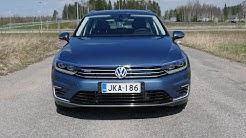 Koeajossa Volkswagen Passat Variant GTE - haukkaako hybridijärjestelmä osan tiloista?