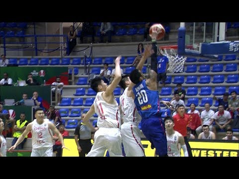 Almazan with the Rock and Roll Poster on China | FIBA Asia Cup 2017