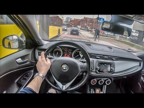 Alfa Romeo Giulietta   4K POV Test Drive #190 Joe Black