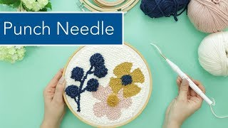 Punch Needle / Rug Hooking – die Technik & Grundlagen