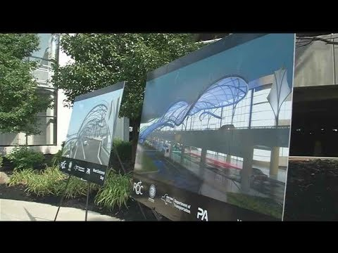 Dinolfo talks canopy project at Greater Rochester International Airport