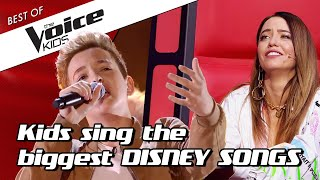 Top 10 | Enchanting Disney Covers In The Voice Kid