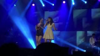 Andien feat Intan Soekotjo Sweet Dreams Are Made of This at UJC Jakarta 2012