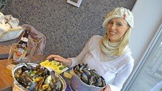 #146 Haie und Esel treffen, Muscheln essen und Meer in Zeeland im Winter