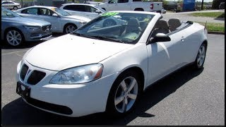 2009 Pontiac G6 GT Convertible Videos