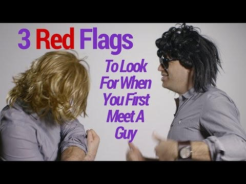 red flags when dating guys