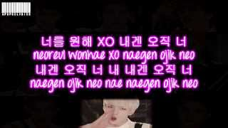 EXO K - XOXO Color Coded Lyrics