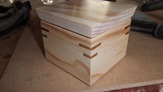 Most dangerous way to make a box?