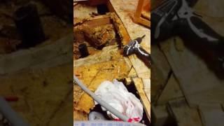 Mobile Home Bathroom Floor Massive Coverup Transformed Right