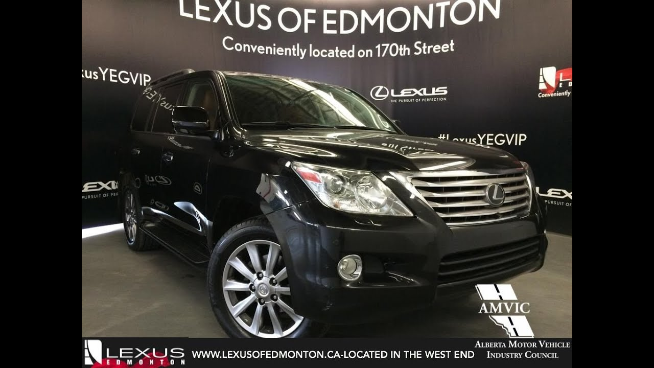 Nice Used Black 2011 Lexus LX 570 4WD Ultra Premium In Depth Review | Red Deer  Alberta   YouTube