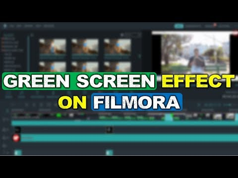 How To Use Green Screen Effect Tool in Filmora?