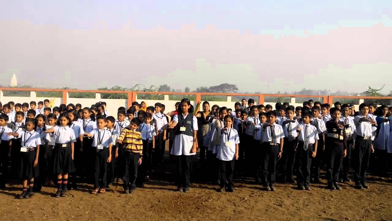 Takshila School, Sangli pledge by takshilaschool sangli