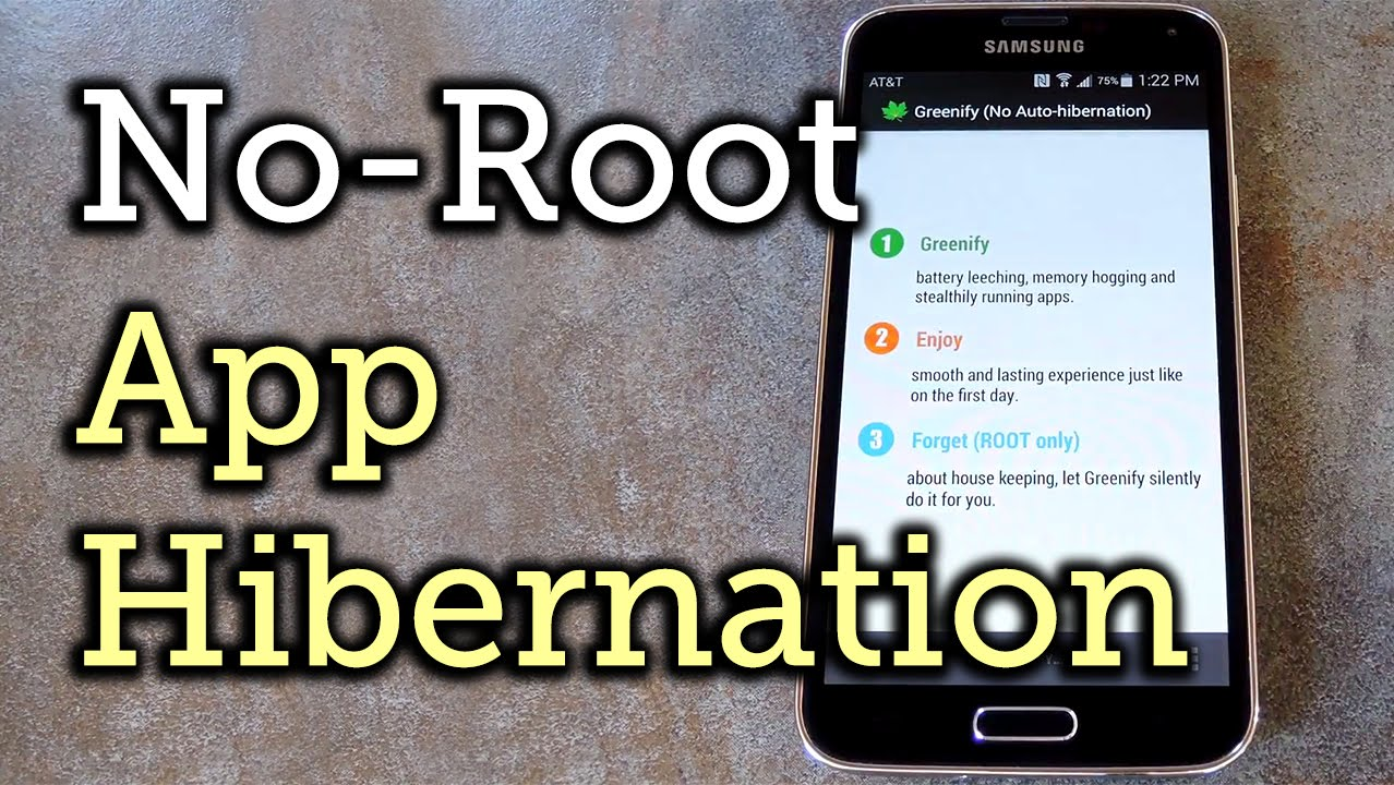 Automatically Hibernate Android Apps For Better Battery Life Without Root How To Youtube