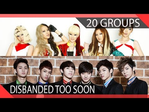 20 KPOP Groups Who Disbanded Too Soon