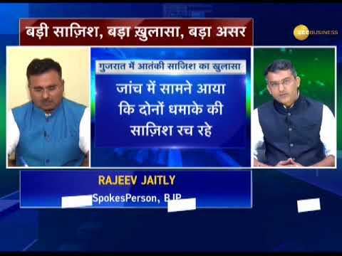 High-voltage confrontation between BJP, Congress over terror plot in Gujarat