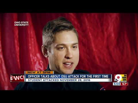 Ohio State University Police Officer Alan Horujko talks about ending on-campus attack