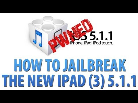 How To Jailbreak New IPad 3 IOS 5.1.1 With Absinthe 2.0 - IPad 2, IPhone 4/4S, IPod Touch 4