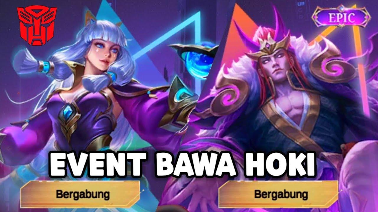 BONGKAR EVENT BAWA HOKI ! BISA DAPAT SKIN TRANSFORMERS GRRTIS - Mobile Legends